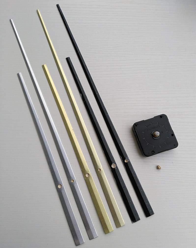 Maslin 50PCS Sweep Large Quartz Clock with Hands DIY Wall Battery Clock Mechanism Repair Clock Kits