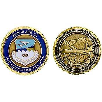 Amazon.com: offutt Base de la Fuerza Aérea Challenge Coin ...