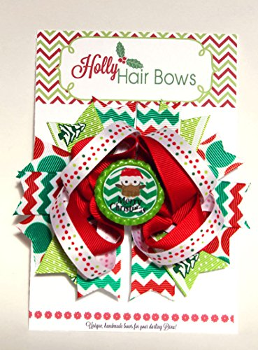 Holly The Owl Child Costumes (Holly Hair Bows- Boutique and Beautiful Christmas Bows for Girls (Owl Wish))