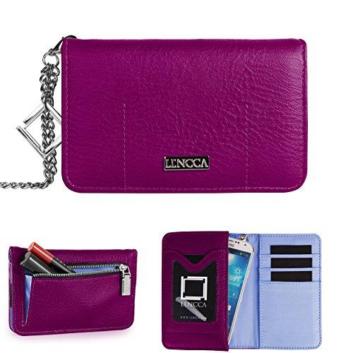 lencca-kymira-20-wristlet-wallet-clutch-case-plum-sky-blue-for-apple-iphone-6-samsung-galaxy-note-4-