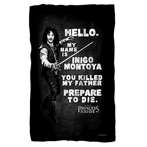 The Princess Bride Hello Again Sublimation Fleece Blanket