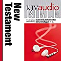 KJV Audio Bible, Pure Voice: New Testament Audiobook by  Zondervan Narrated by Rene Auberjonois, Theodore Bikel, David Birney, Scott Brick, LeVa Burton, Samantha Eggar, Robert Forster, Edward Herrmann