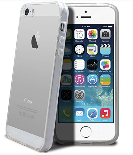 Coque Souple Transparente Gel Silicone Incassable pour iPHONE 5 , iPHONE 5S