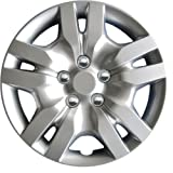 "Drive Accessories 1036 Silver 16"" ABS Plastic Aftermarket Wheel Cover (4-Count)"