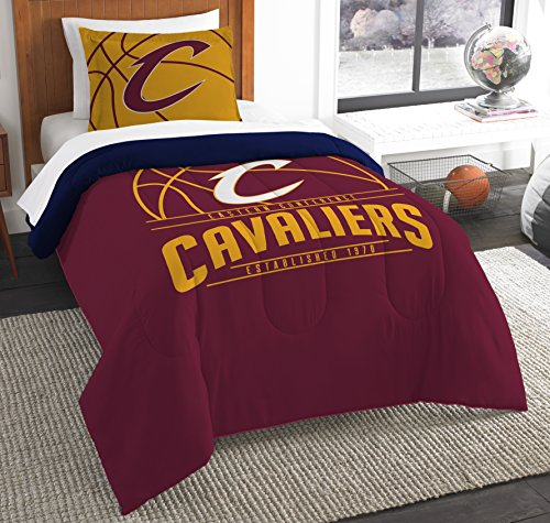 The Northwest Company Officially Licensed NBA Cleveland Cavaliers Reverse Slam Twin Comforter and -