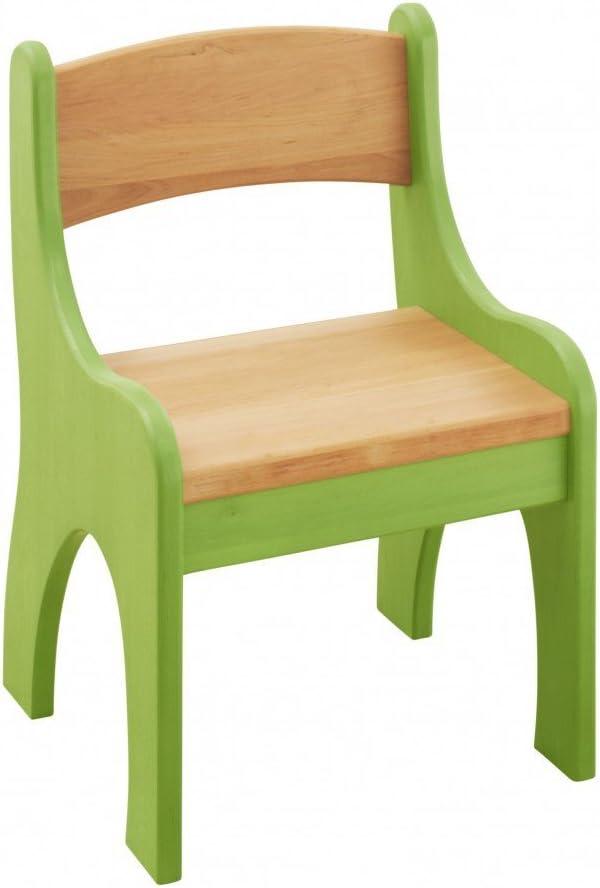 Bank und Stuhl aus Massivholz Erle und Kiefer Flieder lasiert BioKinder 24789 Spar-Set Levin Kindersitzgruppe Sitzgruppe f/ür Kinder mit Tisch