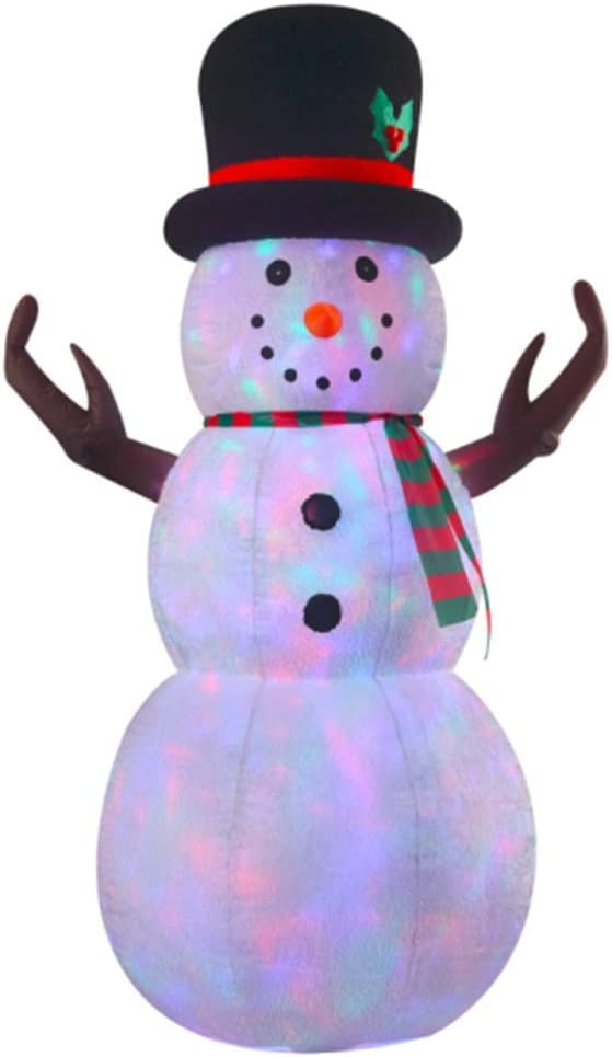 Amazon.com: 8 ft hinchable todos Plush Muñeco de nieve: Home ...
