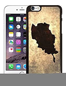 Afghanistan National Vintage Country Landscape Atlas Map Phone Case Cover Designs for iPhone 6 Plus