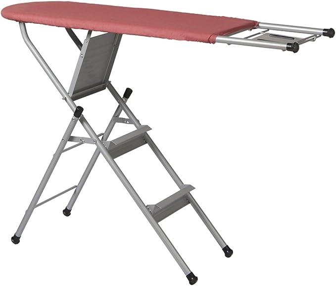 MMM Multifunción plegable tabla de planchar plancha escalera de toallas: Amazon.es: Hogar