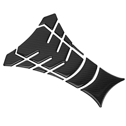 Carbon Fiber Motorcycle Fuel Oil Gas Tank Pad Protector Sticker Decals Universal