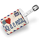 Luggage Tag I Love You Sesotho Love Letter from South Africa - NEONBLOND