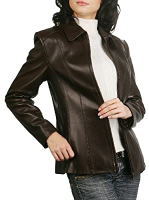 "BGSD Women's ""Miranda"" Missy & Plus Size New Zealand Lambskin Leather Jacket"