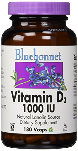bluebonnet vitamin d3 1000 vegetable