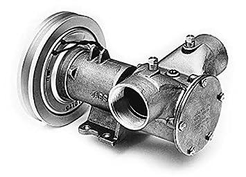 Jabsco 18330 – 0041 Bomba de embrague electromagnético 24 V DC 83 GPM bomba de rotor
