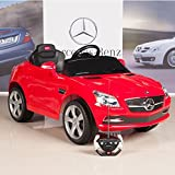 Kids Ride On Car Mercedes Benz SLK350 6V Battery Powered Wheels /Remote Controlled - Red