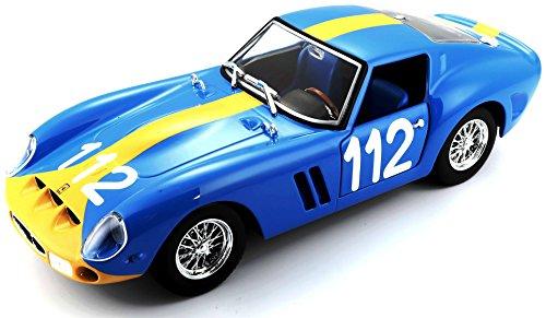 Bburago 1962 Ferrari 250 GTO 1: 24 Scale Die-cast Model, Blue