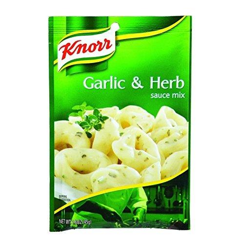 Italian Herb Pasta Sauce - Unilever Bestfoods Knorr Pasta Sauce Garlic Herb - 1.6 ounce - 12 Per Case