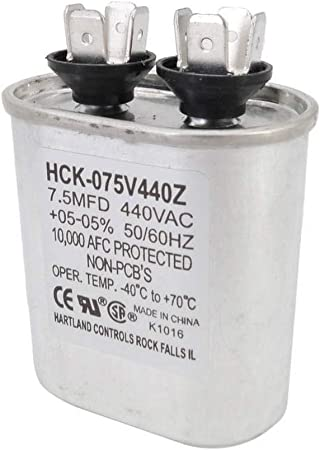 AquaComfort AQC100204 Condensador de Ventilador de 7.5 MFD para ...