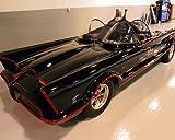 Batman Color Batmobile Classic Car 11x14 HD Aluminum Wall Art