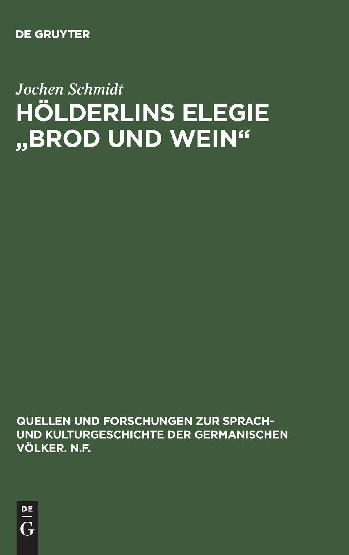 Hölderlins Elegie