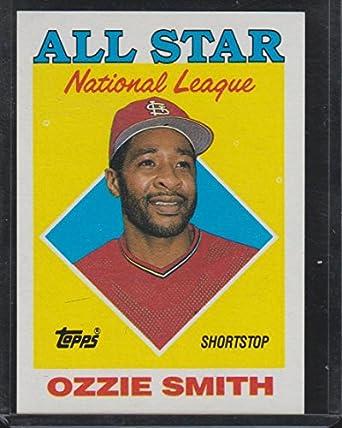 1988 Topps Ozzie Smith Cardinals All Star Baseball Card 400