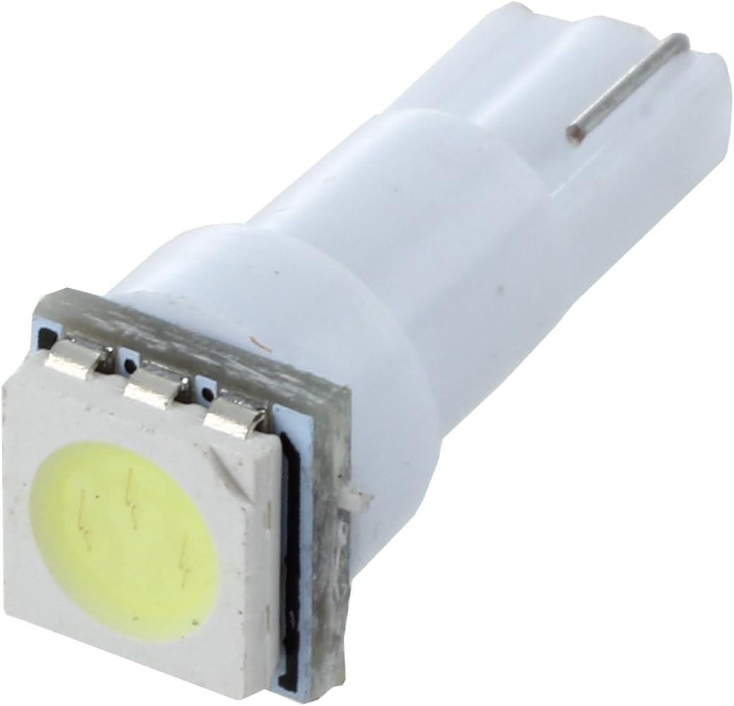 PQZATX 10X Auto T5 5050 lampadine SMD cruscotto Bianco 1-LED lampadina luce 74 37 286 18 27 12v