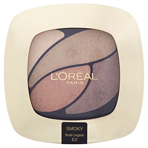 L'Oréal Paris Color Riche Eye Shadow Quad - E2 Beloved Nude/Nude Lingerie - Pack of 2