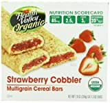 Health Valley Cobbler Cereal Bars, Strawberry, 6 Count, 7.9 Ounce Box Review