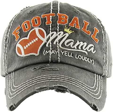 Funky Junque Womens Baseball Cap Distressed Vintage Unconstructed  Embroidered Dad Hat 23b378793221