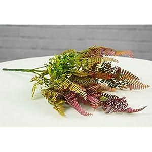 hilingo Artificial Mini Boston Fern Plants for Home and Garden Decoration 2