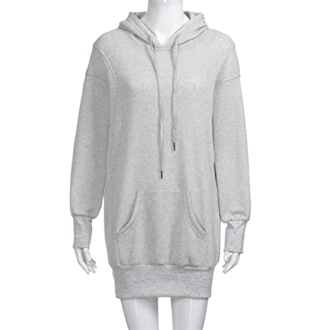 XUIGW Winter Women Hoodies Pullover Solid Girls Causal Long Sleeve Oversized Hoody Sweatshirt Sudaderas Mujer at Amazon Womens Clothing store: