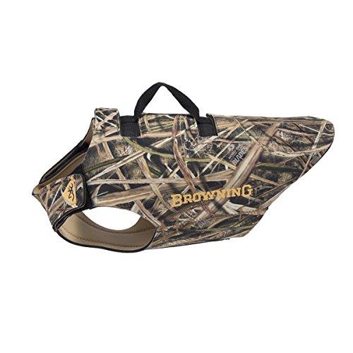 - Browning 5mm Neoprene Dog Vest Dog Hunting Vest, 5mm Neoprene, Camo, Shadow Grass Blades, Medium