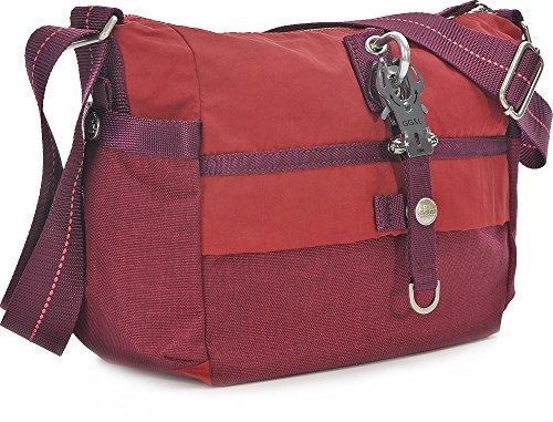 George Gina & Lucy Qukoo Nylon Put Sick Shoulder Bag red