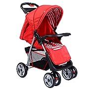 Costzon Foldable Baby Kids Stroller Infant Buggy Pushchair Travel System