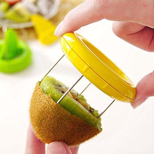 [Ayutthaya shop Mini Fruit Cutter Peeler Slicer Kitchen Gadgets Tools For Pitaya Green Kiwi New ( Color:Send Randomly] (Creative One Of A Kind Costumes)