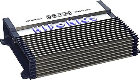 Hifonics BXX800.4 Brutus 800W RMS A/B 4 canales altavoz amplificador de audio para coche: Amazon.es: Coche y moto