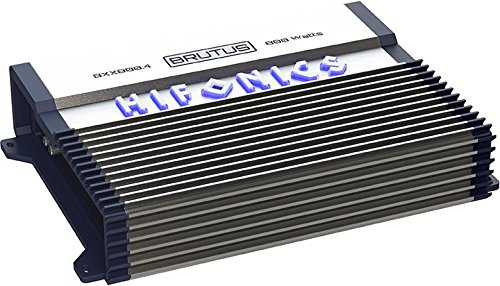 Hifonics BXX800.4 Brutus 800W RMS A/B 4 Channel Speaker Car Audio Amplifier