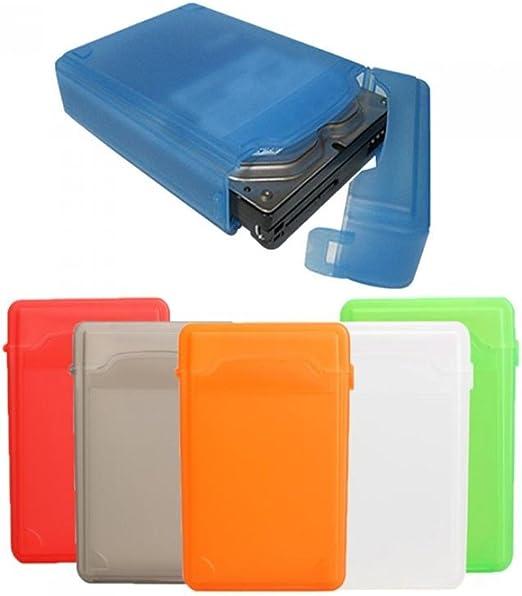 Caja de almacenamiento de plástico transparente para disco duro ...
