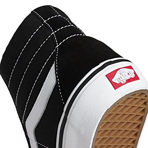best seller for sale Vans Unisex Sk8-Hi Slim Women's Skate Shoe Black White amazon online for nice cheap price VZAEMv