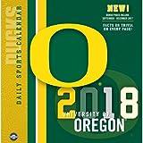 Oregon Ducks 2018 Calendar