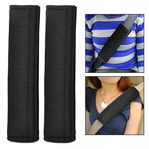 OFKP® Car Seat Belt Comfort Pads Strap Travel Cushion