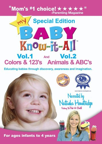 My Baby Know-it-All: Colors & 123's and Animals & (123 Animals)