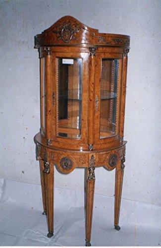 Barock Vitrine Rokoko Antik Stil Schrank Louis XV MoAl0400