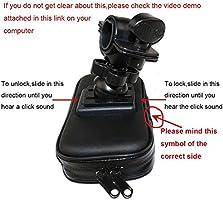 funda transparente y t/áctil rotaci/ón de 360 grados para smartphone de 6 pulgadas SZHAIYU con marco resistente al agua Funda impermeable para tel/éfono m/óvil de bicicleta