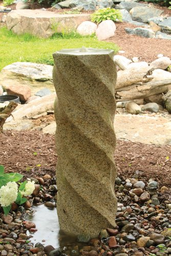 Stone Spiraling Column by Aquascape by Aquascape
