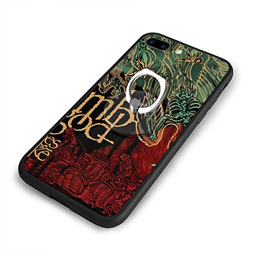 BeatriceBGault Lamb of God Ashes of The Wake Drop Resistance and Scratch Resistance Anti-Fall Anti-Fingerprint Classic Black Border iPhone 7/8 Plus Case (5.5