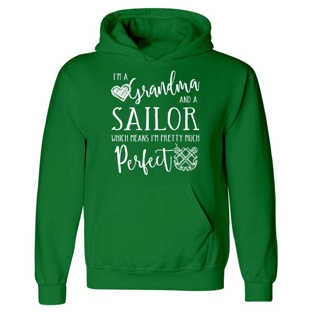 The Stuff Hut Perfect Grandma and Sailor Hoodie