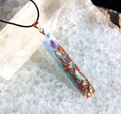 Orgonite Wand Pendant/Mermaid Muse Crystal ()