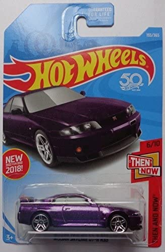 BCNR33 Lot of 2 Hot Wheels 2019 NISSAN SKYLINE GT-R #6 Red NISSAN 1//5 nt 2018