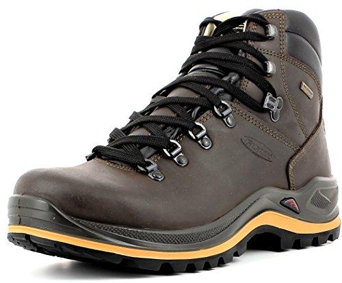 Grisport, scarpe unisex della linea Ranger, per uomini e donne, stivali da trekking e per escursioni, in pelle di alta qualità, con struttura in membrana costruzione e suola Vibram Braun-Spotex